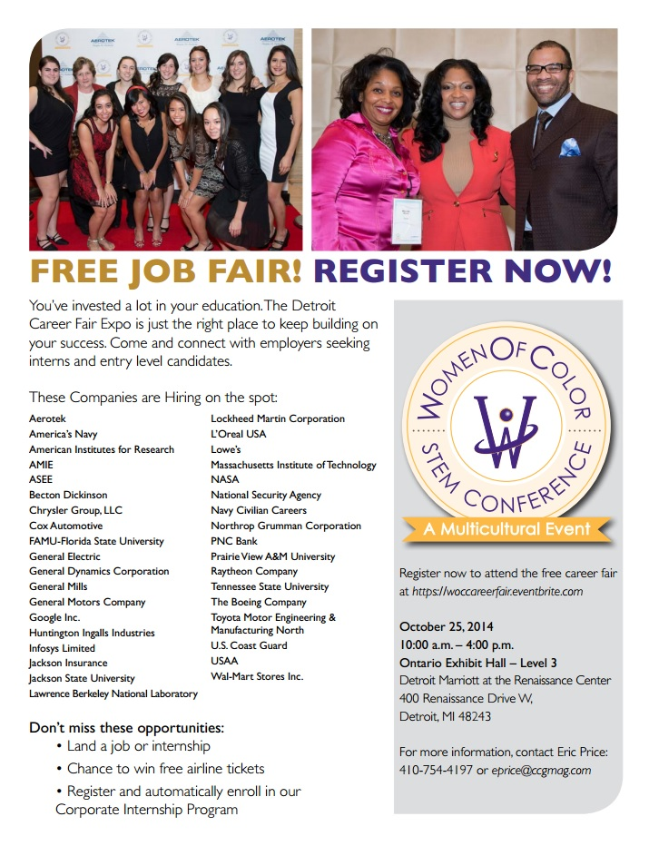 Women of  Color Jab fair