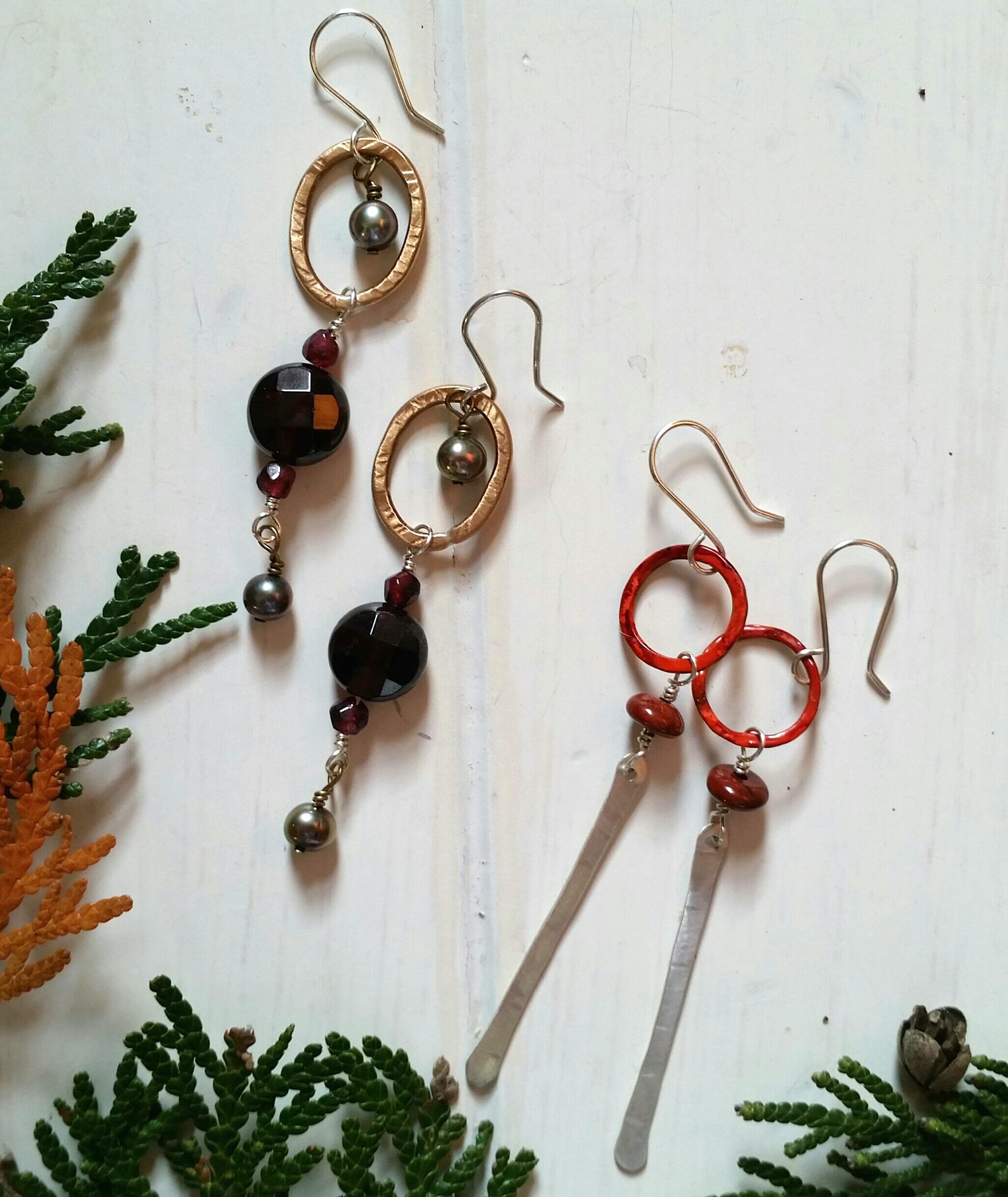 December Earrings